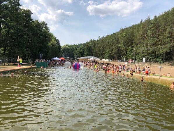 Přírodní koupací biotop Otaslavice